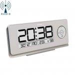 Budzik biurkowy TechnoLine WT 498 zegar elektroniczny sterowany radiowo z termometrem