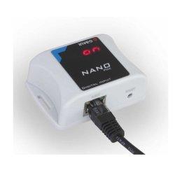 Konwerter sygnału przekaźnik do Ethernet Inveo Nano Digital Input moduł zdalnego odczytu stanu wejścia PoE