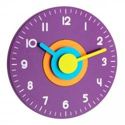 Zegar ścienny TFA 60.3015 POLO wskazówkowy płynąca wskazówka średnica 23 cm