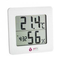 Airbi DIGIT Termohigrometr domowy monitor klimatu pomieszczeń elektroniczny wewnętrzny