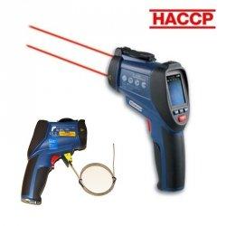 Pirometr profesjonalny TFA 31.1130 SCANTEMP RH 860 kamera termiczna, sonda temperatury, higrometr, walizka