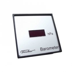 Fischer 33120 miernik ciśnienia atmosferycznego barometr automatyczny wyświetlacz LED wyjście analogowe