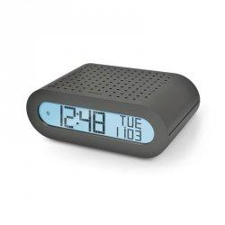 Budzik biurkowy Oregon RRM 116 G zegar elektroniczny sterowany radiowo z odbiornikiem radiowym FM