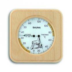 TFA 40.1007 termohigrometr do sauny czujnik temperatury i wilgotności mechaniczny 135 mm