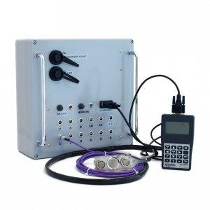 Hukseflux ALUSYS autonomiczny system pomiarowy do badań strumieni ciepła w przemyśle