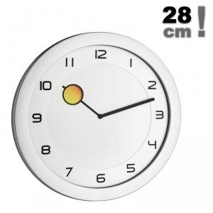 TFA 60.3028 HAPPY HOUR zegar ścienny wskazówkowy kolorowa wskazówka 28 cm
