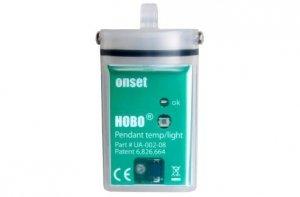 Rejestrator temperatury HOBO UA-002-64 data logger termometr wodoszczelny
