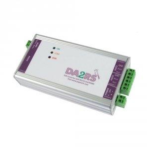 Konwerter przemysłowy sygnału cyfrowego do analogowego DA2RS konwerter cyfrowy RS232/485 do analog