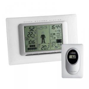 TFA 35.1066 METEO MAX stacja pogody bezprzewodowa z czujnikiem zewnętrznym opcjonalnie czujnik basenowy - WYPRZEDAŻ
