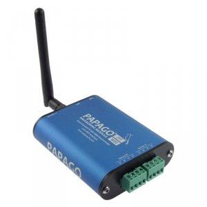 Papouch 2PT_WIFI PAPAGO moduł pomiarowy internetowy dwukanałowy zasilanie PoE Modbus TCP, WIFI, IP