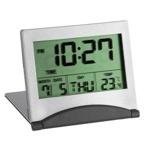 TFA 98.1054 budzik biurkowy zegar elektroniczny sterowany radiowo