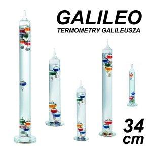 TFA 18.1000 GALILEO termometr Galileusza 34 cm duży 5 kolorowych kulek REKLAMOWY