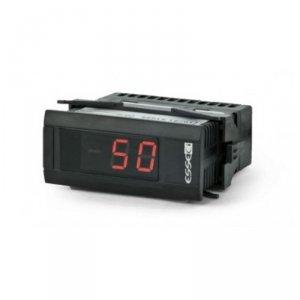Miernik temperatury termorezystancyjny Pt100 Esseci SCL12E3 wyświetlacz 12 mm tablicowy 75 x 33 mm