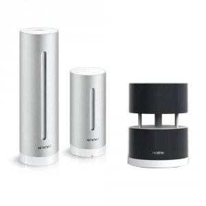Netatmo Weather Station + Wind Module stacja pogody internetowa inteligentna stacja meteo on-line WiFi
