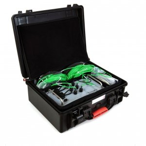 Hukseflux TRSYS01 system pomiarowy do badań oporu cieplnego w budownictwie