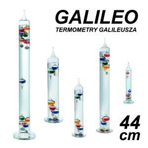 TFA 18.1001 GALILEO termometr Galileusza 44 cm duży 7 kolorowych kulek REKLAMOWY