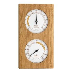 TFA 40.1052 termohigrometr do sauny tradycyjny czujnik temperatury i wilgotności mechaniczny 2 x 86 mm