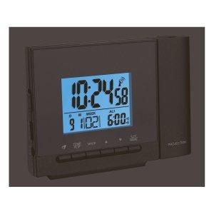 TFA 60.5013 budzik biurkowy zegar elektroniczny sterowany radiowo z termometrem i projektorem