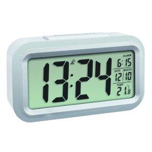TFA 60.2553 budzik biurkowy zegar elektroniczny sterowany radiowo