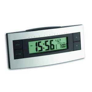 TFA 60.2511 budzik biurkowy zegar elektroniczny sterowany radiowo