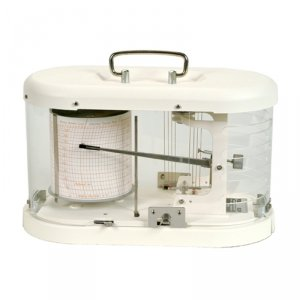 Fischer 325 higrograf profesjonalny tradycyjny rejestrator wilgotności mechaniczny higrometr samopiszący