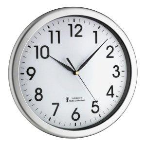 TFA 60.3519 CORONA zegar ścienny tarczowy z podświetlaną tarczą średnica 31 cm