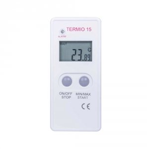 Rejestrator temperatury TERMIO-15 data logger termometr rezystancyjny Pt1000 USB