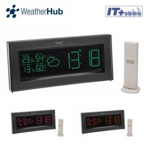 TFA 35.1147 COLORIS stacja pogodowa bezprzewodowa kolorowa WeatherHub Smart Home