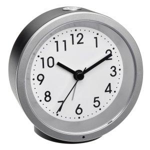 TFA 60.1034 budzik biurkowy zegarek wskazówkowy płynąca wskazówka