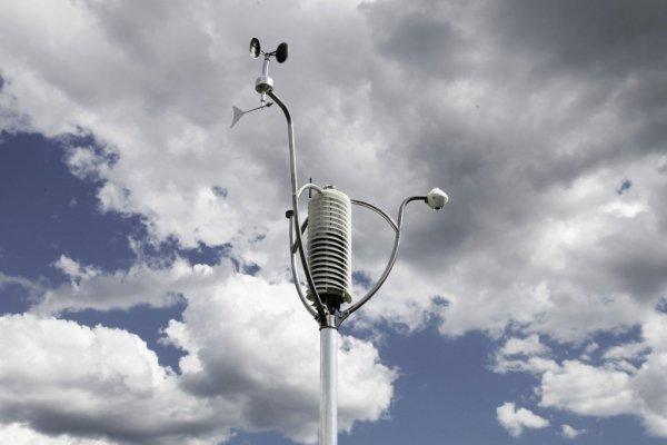 Czujnik prędkości i kierunku wiatru Barani MeteoWind 1 wiatromierz mechaniczny profesjonalny anemometr Modbus