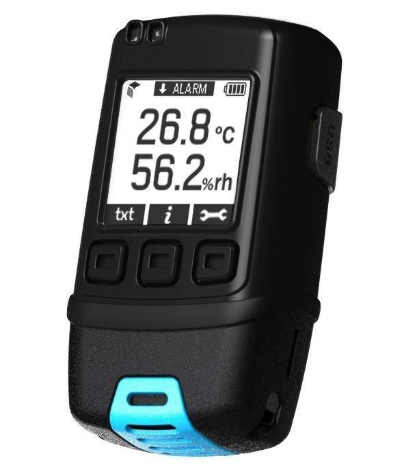Rejestrator temperatury i wilgotności Corintech GFX-TH data logger termohigrometr USB