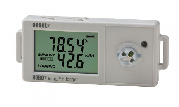 Rejestrator temperatury i wilgotności HOBO UX100-011 data logger termohigrometr wewnętrzny