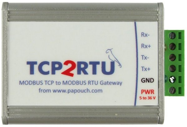 Papouch TCP2RTU konwerter Modbus RTU/ASCII do Modbus TCP konwerter RS232/422/485 do Ethernet