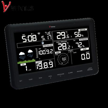 Stacja pogody bezprzewodowa on-line WiFI Ventus W830 zewnętrzna wiatr, opady