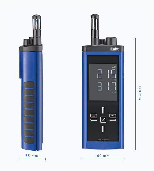 Lufft XC200 miernik temperatury i wilgotności przemysłowy ręczny termohigrometr przenośny profesjonalny