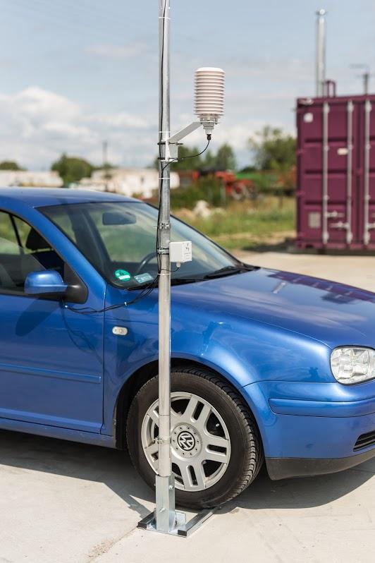 Maszt pomiarowy mobilny 3 m PM Ecology MST-103M aluminiowy, teleskopowy