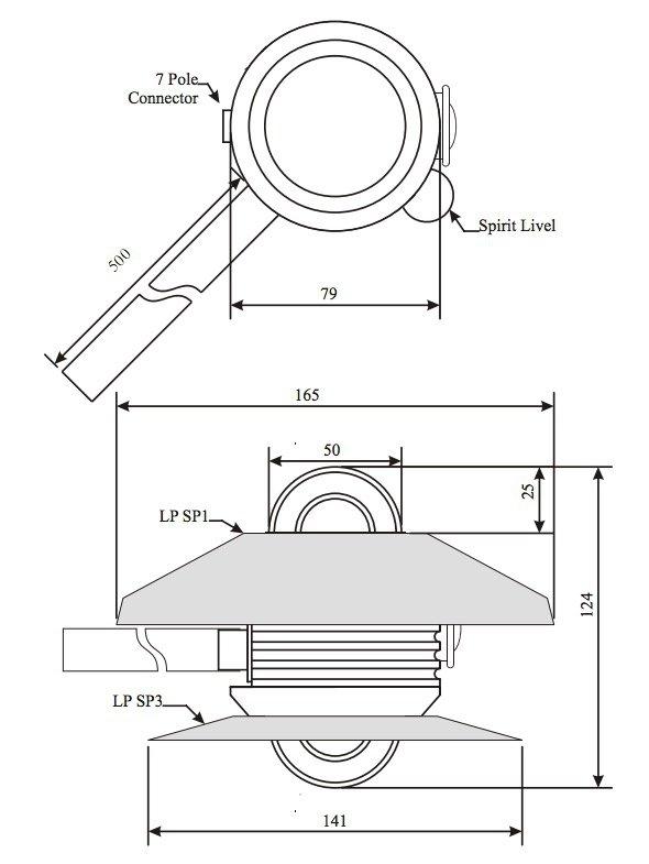 DeltaOhm LP PYRA 05 czujnik promieniowania odbitego albedometr termoparowy First Class