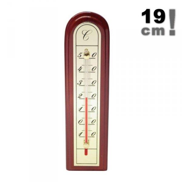 Viking 01938 termometr pokojowy cieczowy domowy ścienny 185 mm