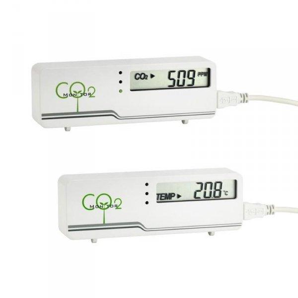 TFA 31.5006 AirCO2ntrol Mini stacja kontroli jakości powietrza wewnętrzna wskaźnik stężenia CO2