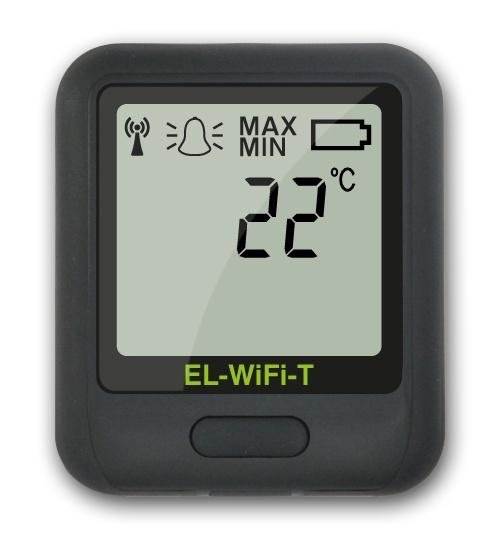 Corintech EL-WiFi-T+ rejestrator temperatury internetowy data logger WiFi, IP, Ethernet