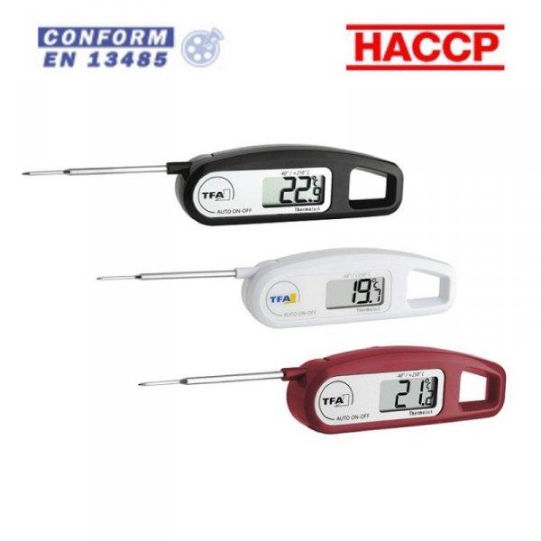 TFA 30.1047 THERMO JACK termometr kuchenny elektroniczny z sondą szpilkową do żywności 60 mm