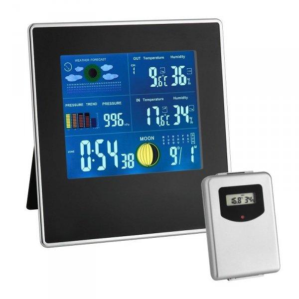 TFA 35.1126 GALLERY stacja pogody bezprzewodowa z czujnikiem zewnętrznym kolorowa - ZE ZWROTU