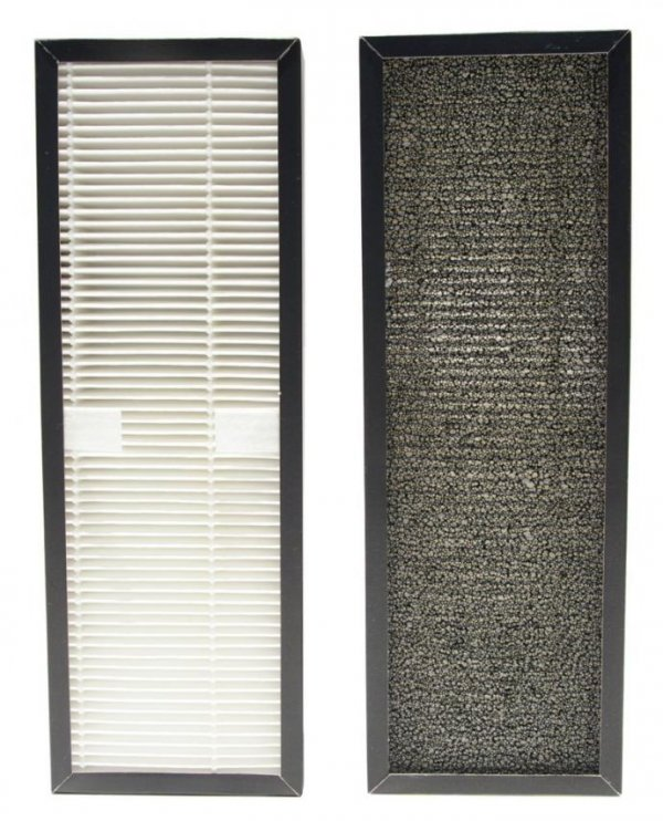 Airbi MAXIMUM Oczyszczaczo - nawilżacz powietrza urządzenie 2 w 1 filtr wodny do 85 m2