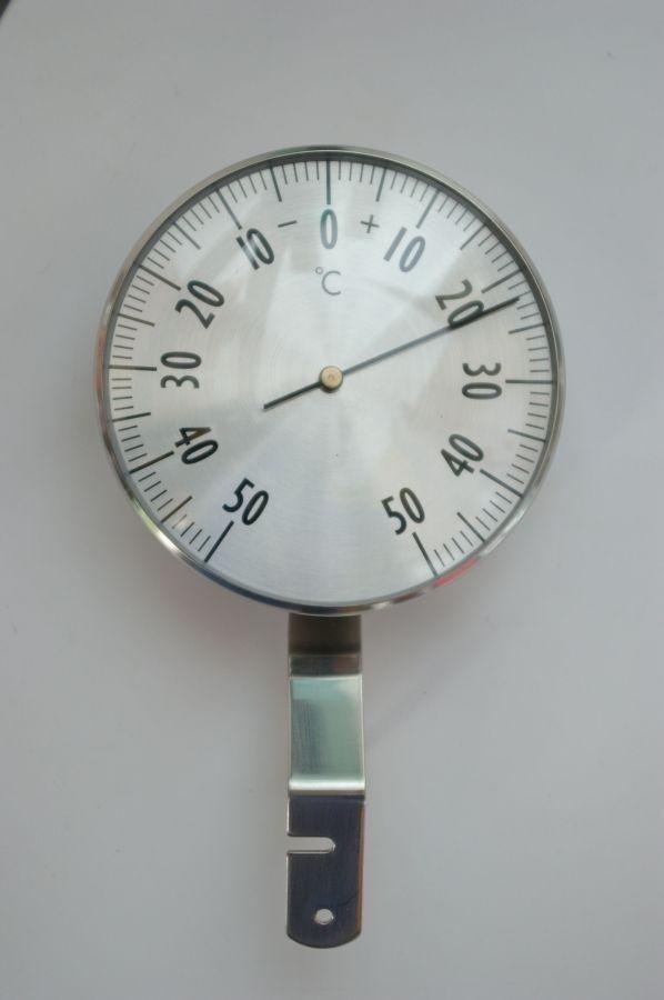 Viking 02304 termometr okienny mechaniczny zewnętrzny metalowy