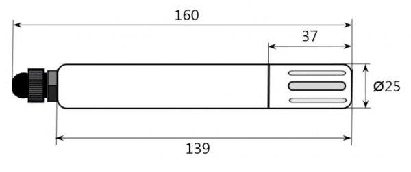 PM Ecology SRH1A czujnik temperatury i wilgotności termohigrometr elektroniczny SDI-12