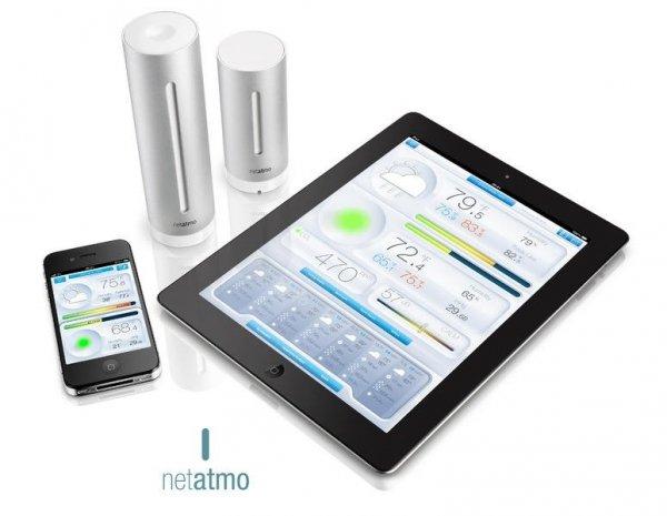 Netatmo Weather Station stacja pogody internetowa inteligentna stacja meteo on-line WiFi