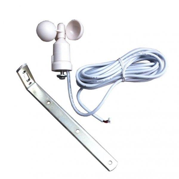 ECW Czujnik prędkości wiatru wiatromierz, anemometr mechaniczny impulsowy