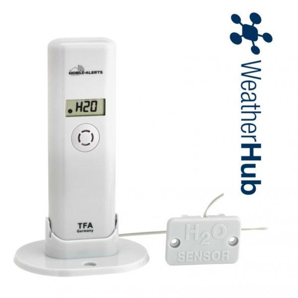Czujnik temperatury i wilgotności bezprzewodowy TFA 30.3305 z sondą detekcji wody do WeatherHub
