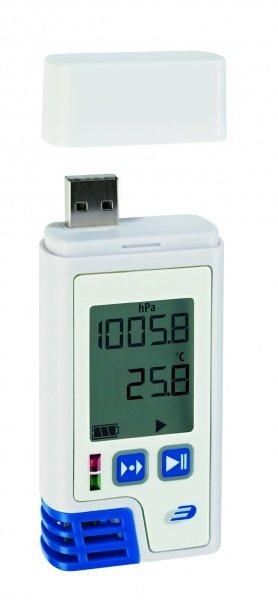 TFA 31.1059 LOG220 rejestrator temperatury wilgotności i ciśnienia  data logger termohigrobarometr USB HACCP czujnik ruchu