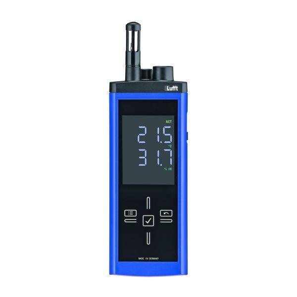 Lufft XC250 miernik temperatury i wilgotności przemysłowy ręczny termohigrometr przenośny profesjonalny z pirometrem